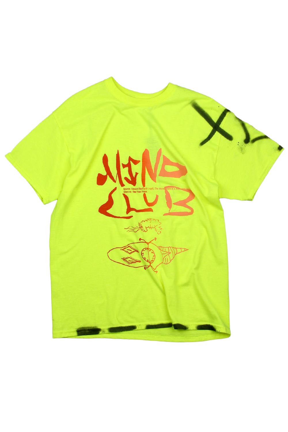 [MIND CLUB] MIND CLUB T-SHIRT neon