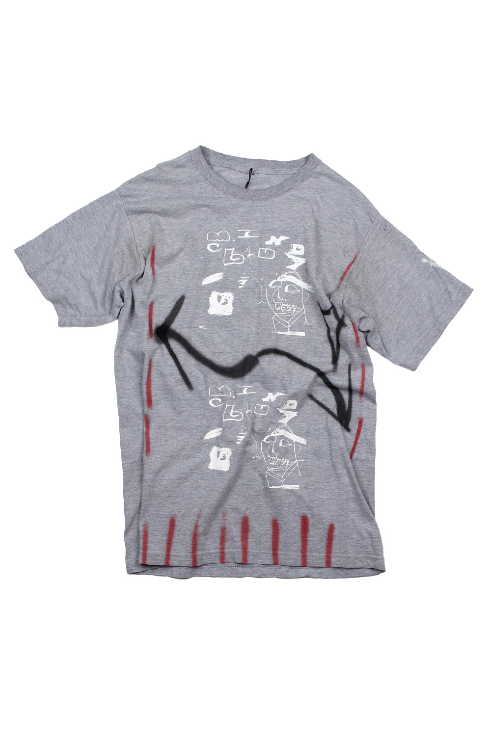 [MIND CLUB] MIND CLUB T-SHIRT grey